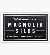Willkommen bei Magnolia Silos Sticker
