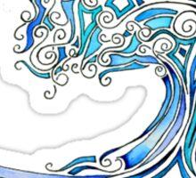 Wave Mosaic Sticker