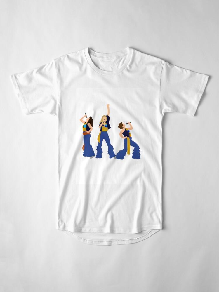 Vista alternativa de Camiseta larga Donna y los Dynamos Young