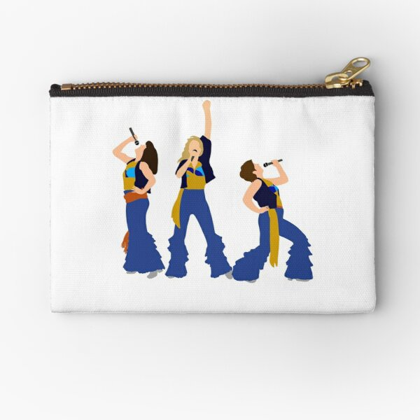 Donna and the Dynamos Young  Zipper Pouch
