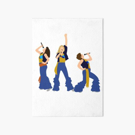Donna and the Dynamos Young  Art Board Print
