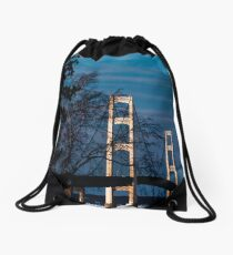 South side towers Drawstring Bag