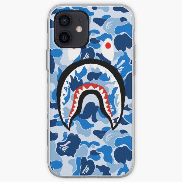 A Bathing Ape Blue Shark iPhone Soft Case
