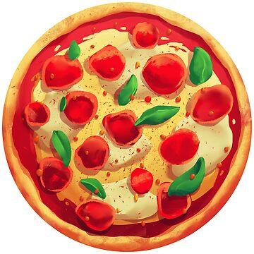 My World Revolves Around Pizza by shellz-art