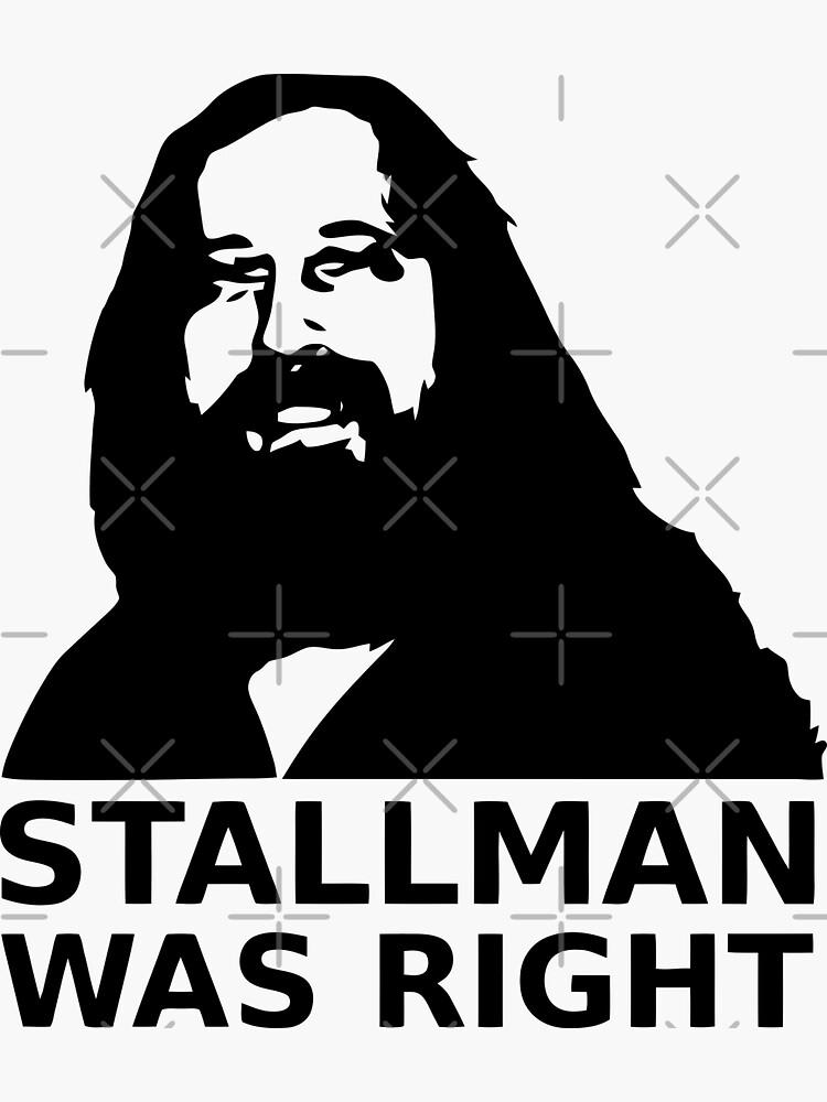 Stallman was right by orinemaster