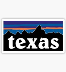 Texas Mountains Sticker