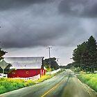 Barn on Blackjack Road by Nadya Johnson
