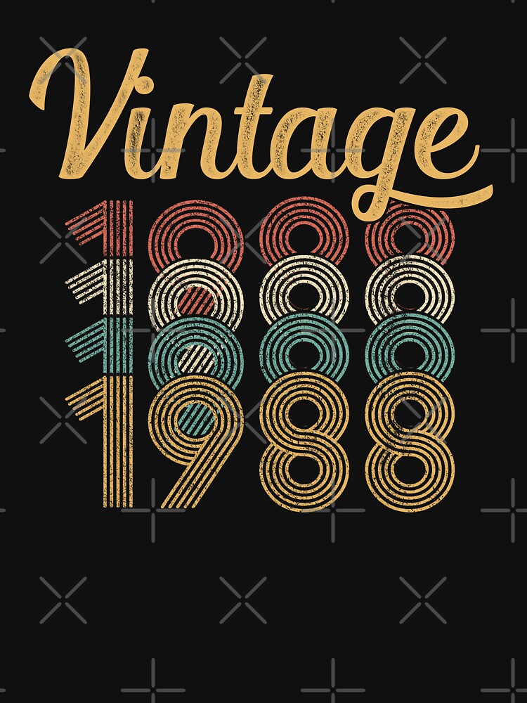 Vintage 1988 - 30th Birthday by funny-gift
