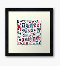 Hang Ups Framed Print