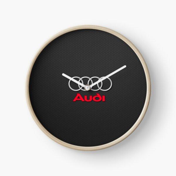 Audi Logo Clock