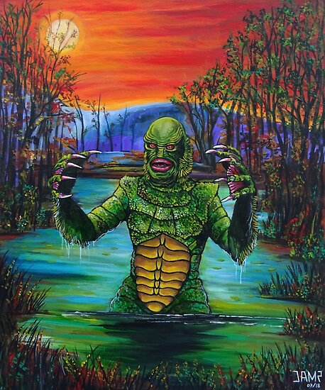 «Creature from the Black Lagoon» de JosefMendez