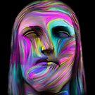 Christ Colors-Black by Felipe Navega
