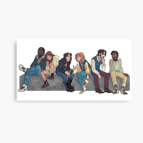 Purgatory gang Canvas Print