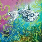 Perception I - underwater by Sally Barnett