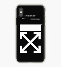 off white old strape iPhone Case