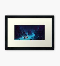 River Spirits. Framed Print