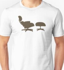 Eames Lounge Chair and Ottoman Unisex T-Shirt