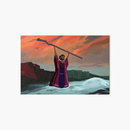 The Red Sea Art Board Print