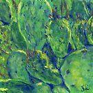 Prickly Paradise (pastel) by Niki Hilsabeck