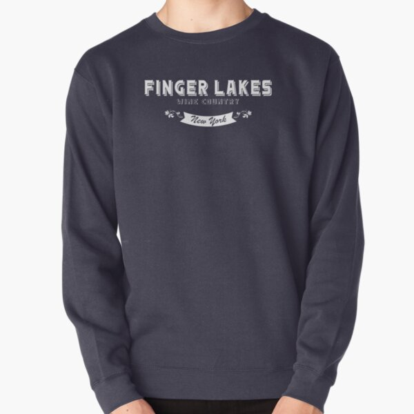 Finger Lakes Wine Trail Wineries Pullover Sweatshirt