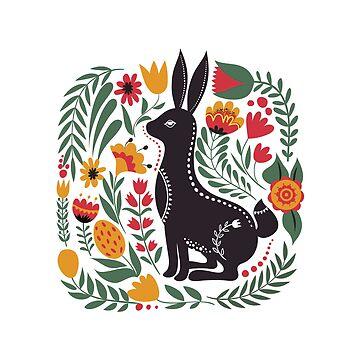 Wild Garden Bunny by thedailybunnies
