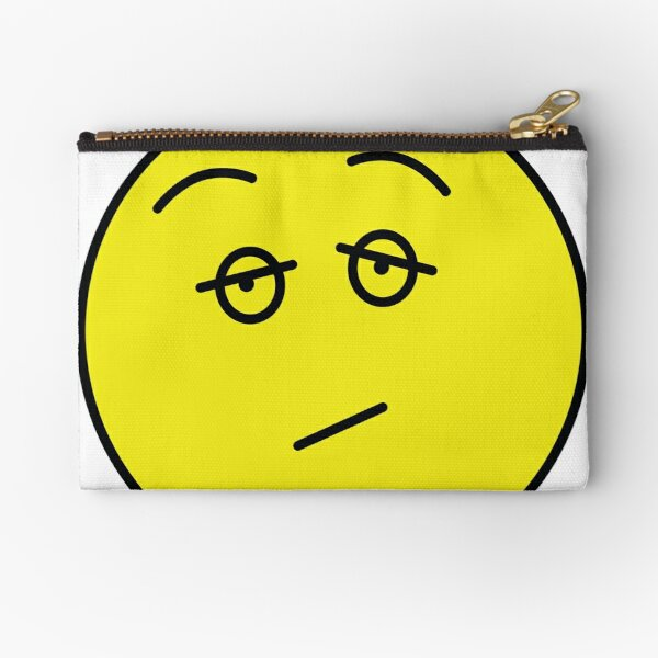 How do I feel today? Eh... Zipper Pouch