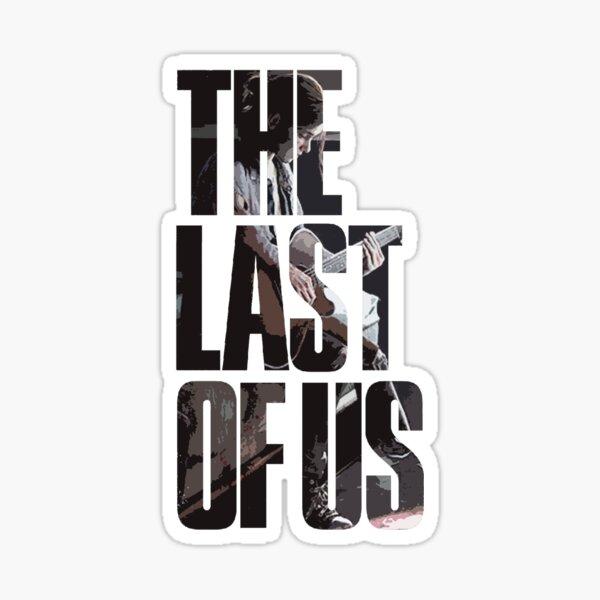 The Last of Us Logo con Ellie. Pegatina