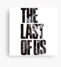 Lienzo The Last of Us Logo con Ellie.