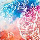 Butterflies 3 by Sally Barnett
