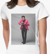 OBEN. Urknall Tailliertes T-Shirt