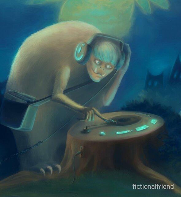 DJ Monster by fictionalfriend