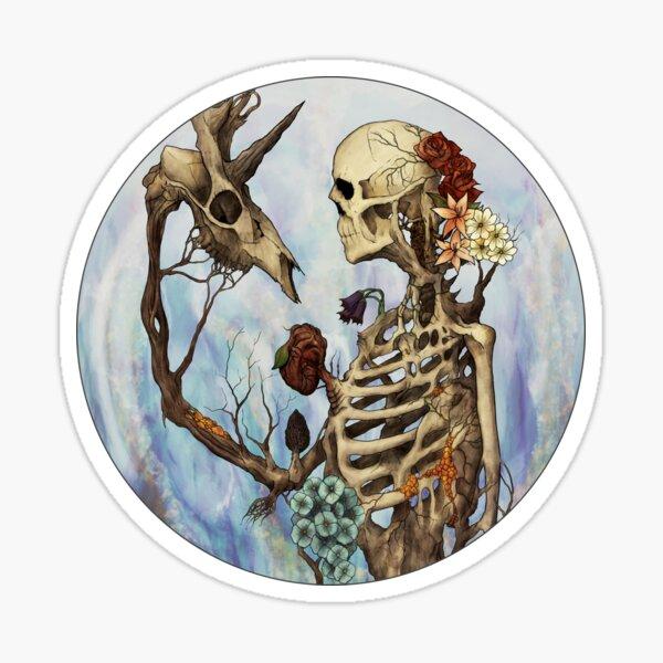 Flourishing Symbiosis Sticker