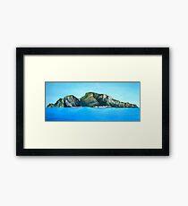 Capri - the Island Framed Print