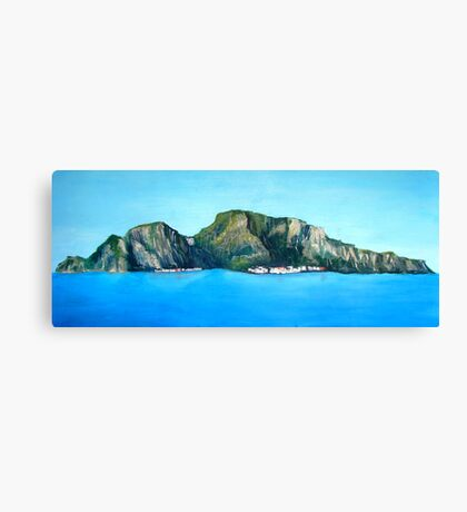 Capri - the Island Canvas Print