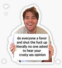 Shane Dawson meme Sticker