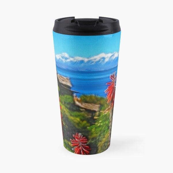 Sun Island. Lake Titicaca. Bolivia Travel Mug