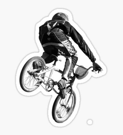 Biking Big Air  Sticker