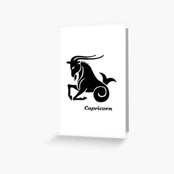 ★ Zodiac Signs: CAPRICORN Greeting Card