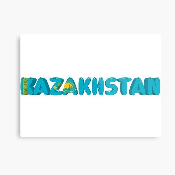 Kazakhstan! Metal Print