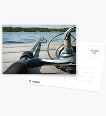 Rod and reel Postcards