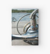 Rod and reel Hardcover Journal