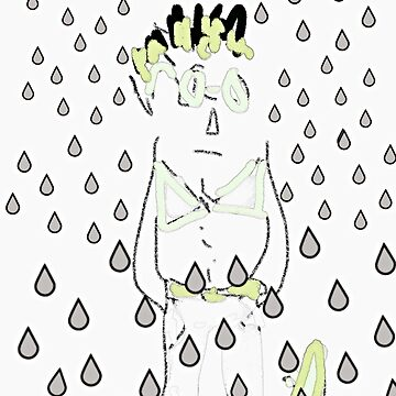 The sad man by Hristova