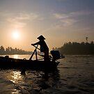 Mekong Delta Sunrise by Darren Newbery