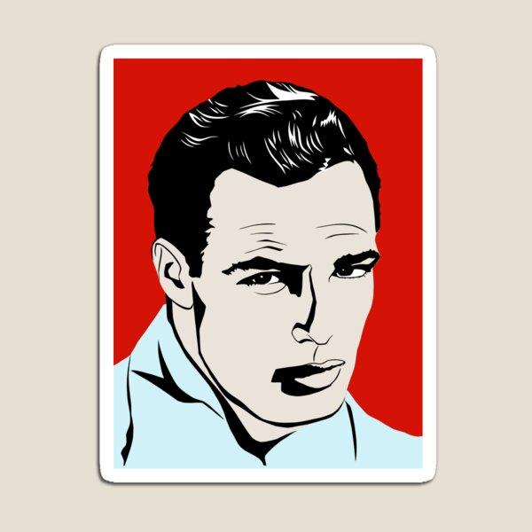 Marlon Brando Magnet