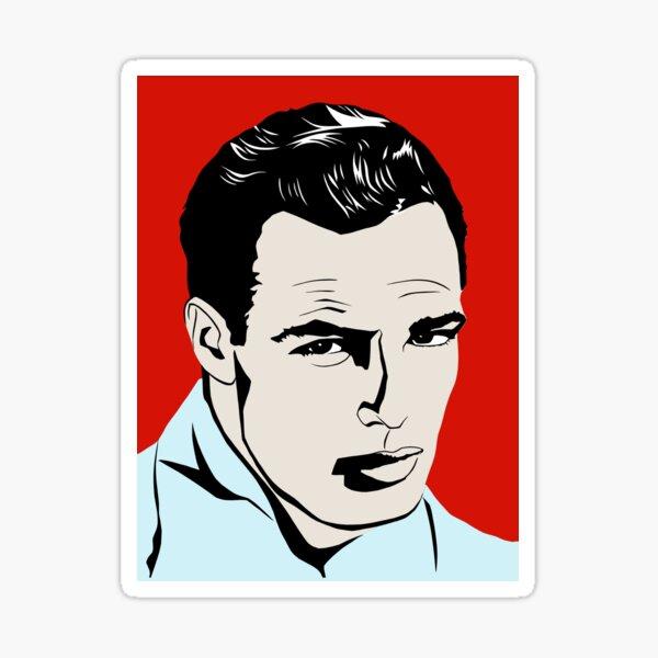 Marlon Brando Sticker