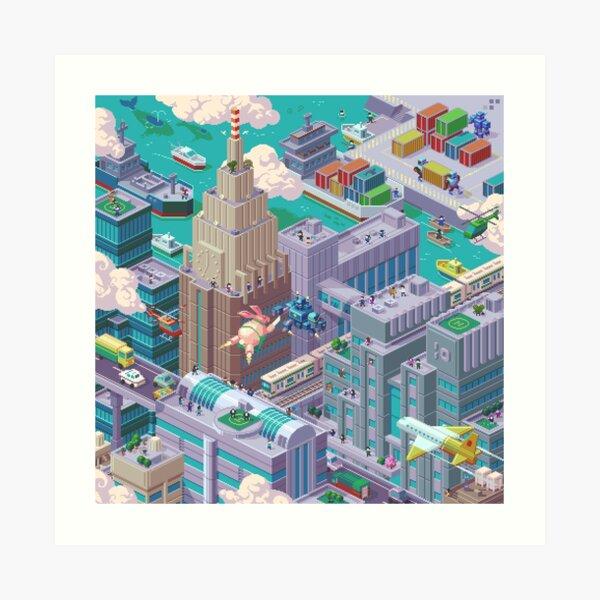 Mondo - 4 Art Print