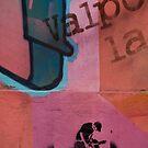 Chile Graffiti  by Darren Newbery