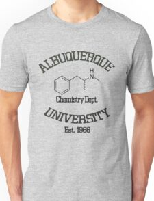 Albuquerque University - Breaking Bad Unisex T-Shirt