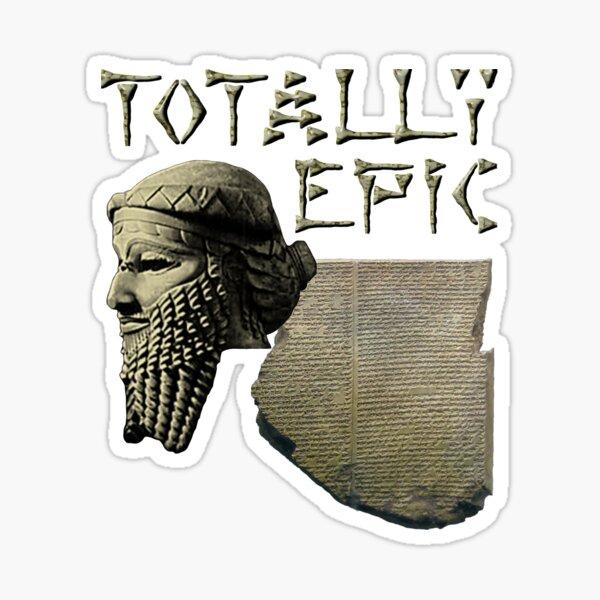 Gilgamesh: Totally Epic - Color Sticker