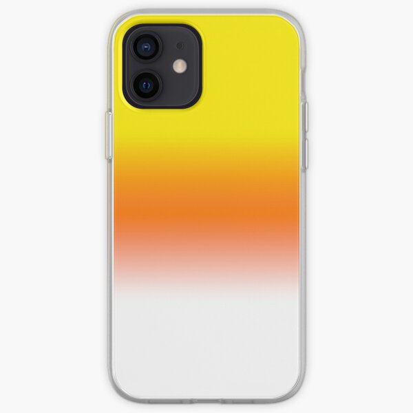 Candy Corn Yellow Orange and White Halloween Candy  iPhone Soft Case